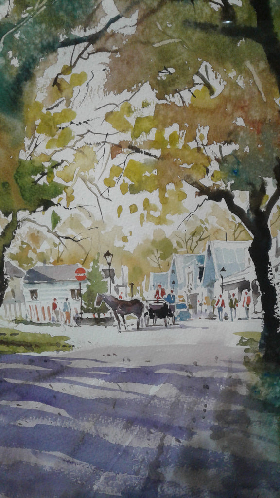 Keith Reed-Arrowtown Horse and Buggy