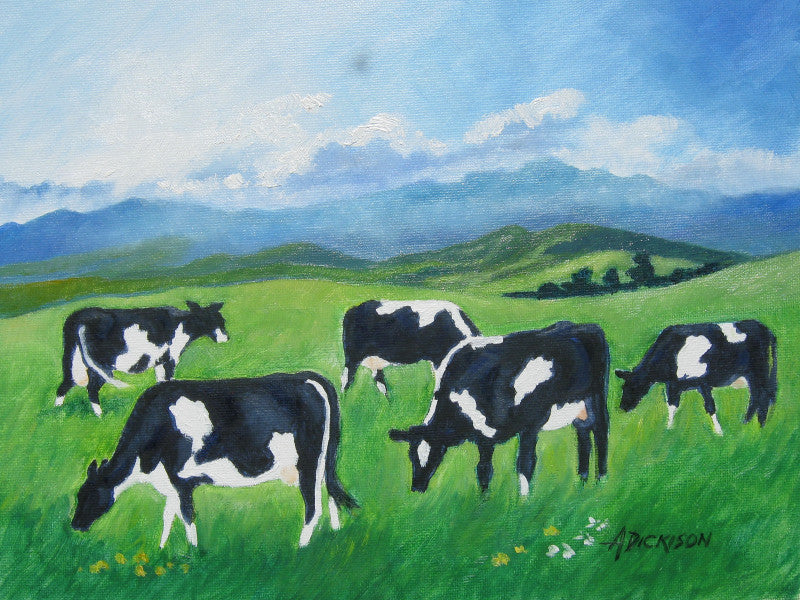 Annette Dickison-Dairy Cows