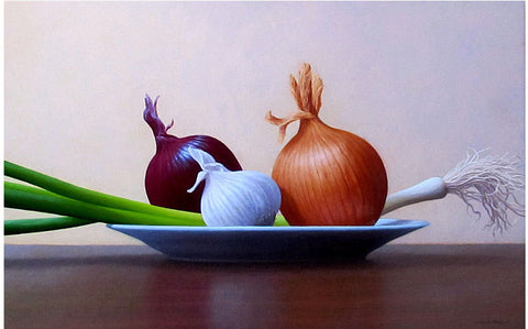 Mark Rodgers-Green Onion,Onions and Garlic