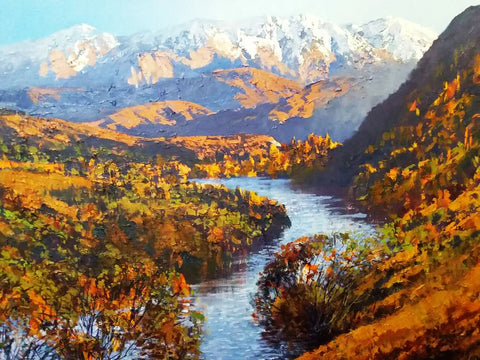 Graham Brinsley-Kawarau River from the Bungy Bridge