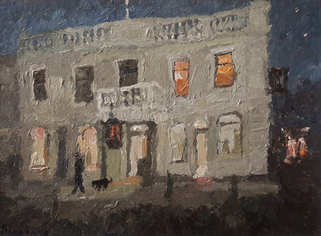 Malcolm Mason-Eichardts Hotel by night