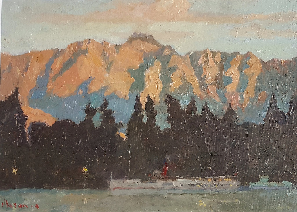 Malcolm Mason-The Remarkables and the Earnslaw