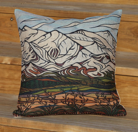 M.J.C Desert Road Cushion Cover