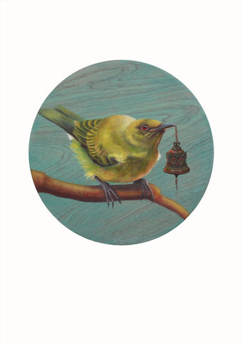 Jo Gallagher-NZ Bellbird