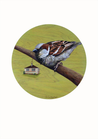 Jo Gallagher-The Common House Sparrow