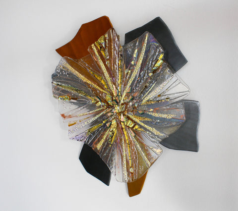 "Cathy Shepherd Glass ""Streaks of Glory"""