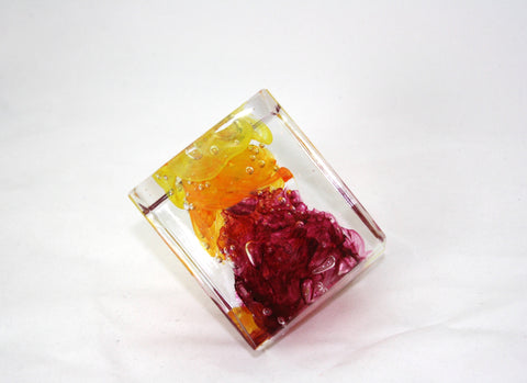 Christopher Morrison Glass Cube