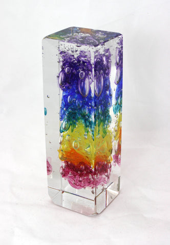 Christopher Morrison Glass Facet Cube