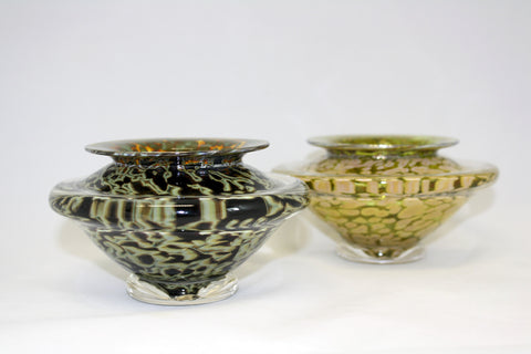Gartner/Blade Art Glass Bowl For the Art of Ikebana - Small