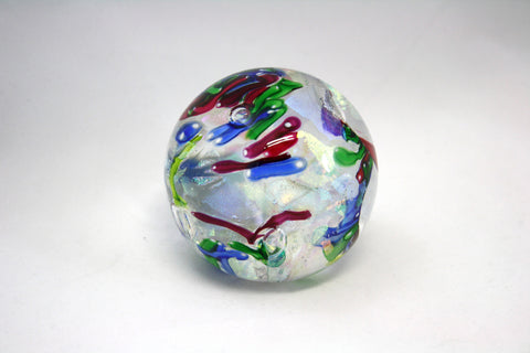 Glass Eye Studio Round Festival Paper Weight