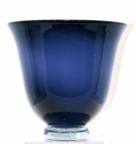 Nicholson Blown Glass Purple/Cobalt Bowl