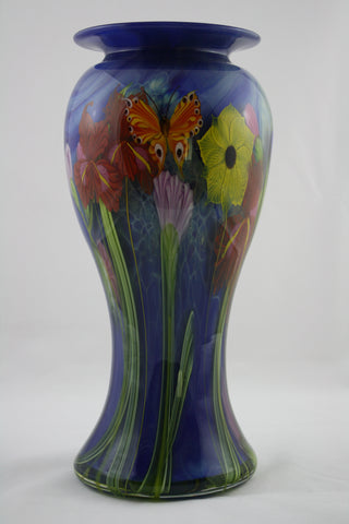 Mayauel Ward Art Glass Wildflower Vase