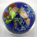 Mayauel Ward Art Glass Butterfly Paperweight