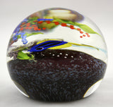 Mayauel Ward Art Glass Fish Paperweight