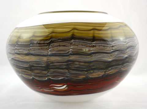 Gartner/Blade Art Glass Sargasso Series Bowl