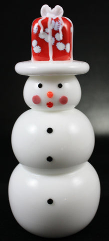 Vitrix Hot Glass Studio Present Snowmen