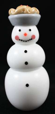 Vitrix Hot Glass Studio Apple Pie Snowman