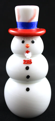 Vitrix Hot Glass Studio Uncle Sam Snowman