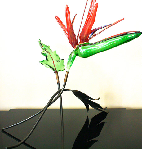 Loy Allen Glass Bird Of Paradise