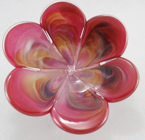 Glass Eye Studio Pink Affection Flower