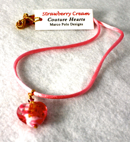 Marco Polo Designs Strawberry Cream Couture Heart