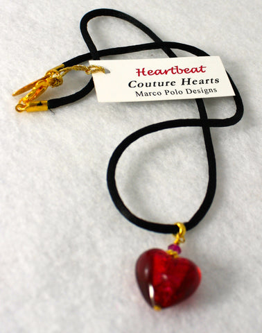 Marco Polo Designs Ruby Couture Heart