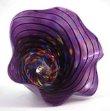 Glass Eye Studio Eggplant Twist Floppy Bowl