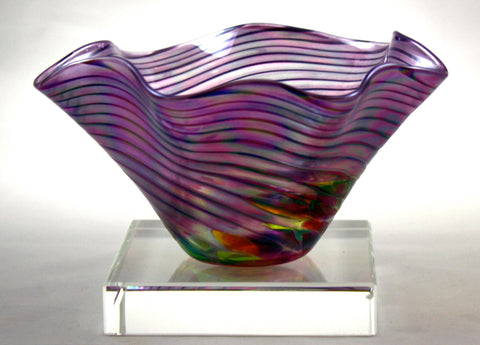 Glass Eye Studio Eggplant Mini Floppy Bowl