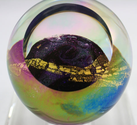 Glass Eye Studio Venus Planet Paper Weight