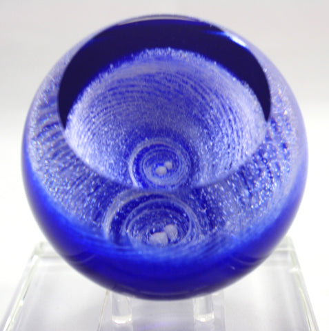 Glass Eye Studio Andromeda Celestial Paper Weight
