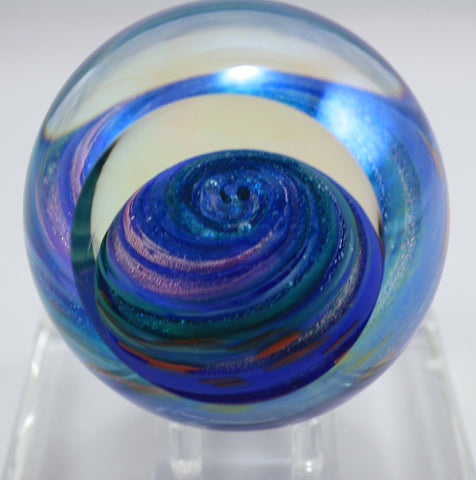 Glass Eye Studio Uranus Planet Paper Weight