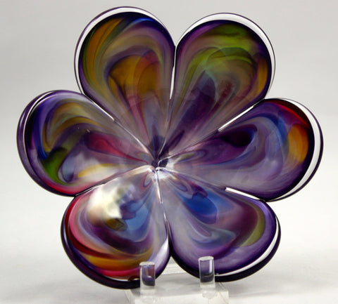 Glass Eye Studio Purple Affection Flower