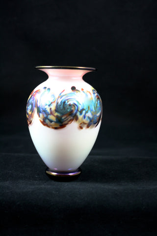 "Nourot Glass Studio ""C'ezanne"" Mini Vase"