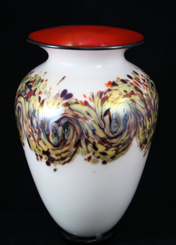 "Nourot Glass Studio ""C'ezanne"" Mantle Urn"