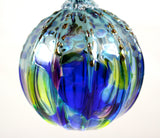 Glass Eye Studio Classic Ornament Cobalt Luster