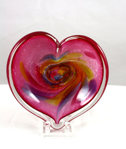 Glass Eye Studio Pink Affection Heart