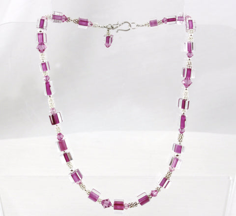 Penrose Design Pink Necklace
