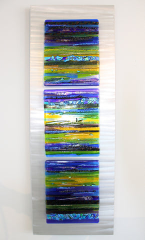 "Cathy Shepherd Glass ""Kisses at the Horizon"""