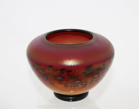 "Nourot Glass Studio ""C'ezanne"" Mini Bowl - Red"