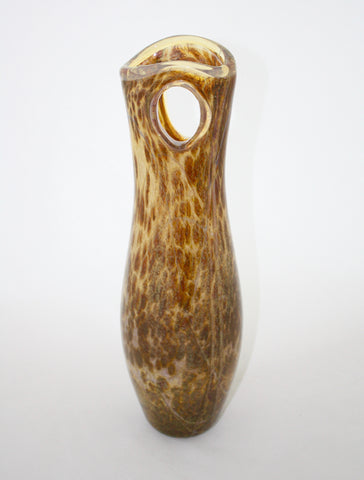 Nourot Glass Studio Void Vase - Tortoise
