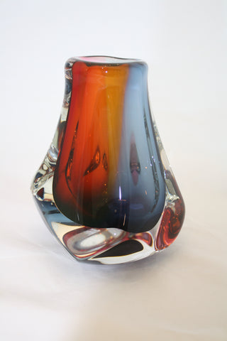 Harrie Art Glass Matthew Thick Vase