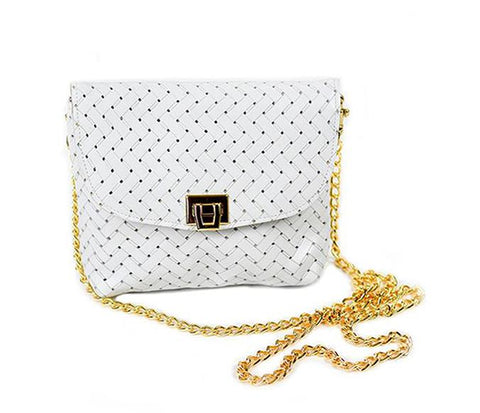Mykonian White Crossbody