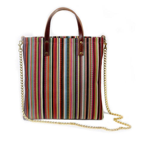 Bohemian Stripe Crossbody