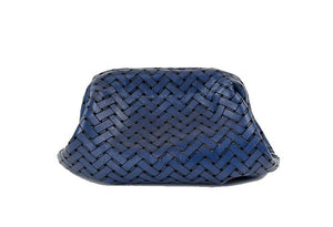 Clam Clutch in Blue