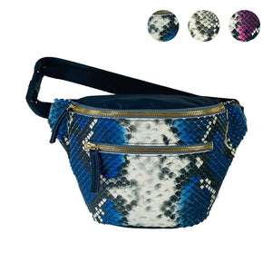 Snake Leather Fanny Pack