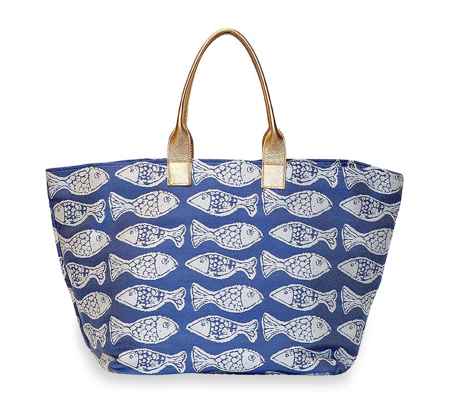 Fish Large Tote