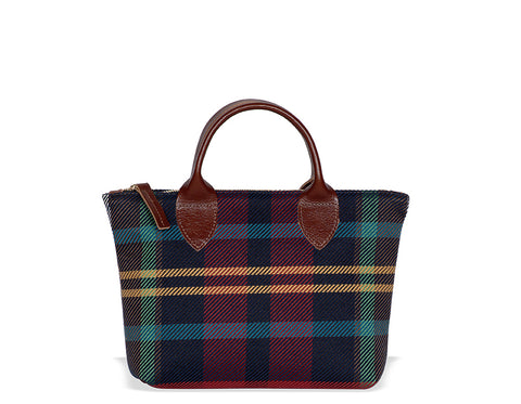 Old School Plaid Mini Tote
