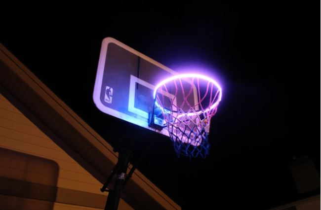Motion-Sensing HoopLights