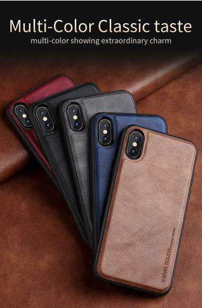 X-Level Leather Case-iPhone
