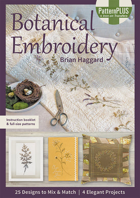 Botanical Embroidery - Book - CTP11389